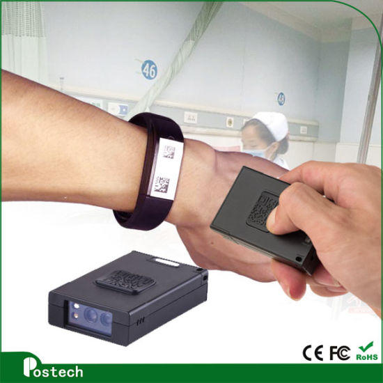 OEM Omnidirectional Cordless Bluetooth 2D Barcode Scanner Reader