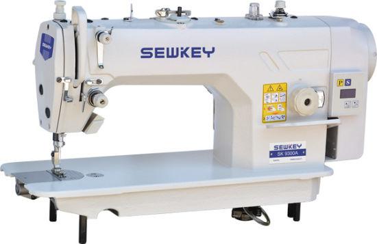 Sk9300A Direct-Drive High Speed Computer Lockstitch Industrial Sewing Machine