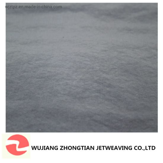 21s Polyester Cotton Woven Fabric Water Proof Textile for Outerwear