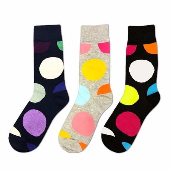 Wholesale Mens Cotton Dress Socks Mens Socks Factory OEM Logo Men Cotton Sox Embroidery Design in Stocking pictures & photos