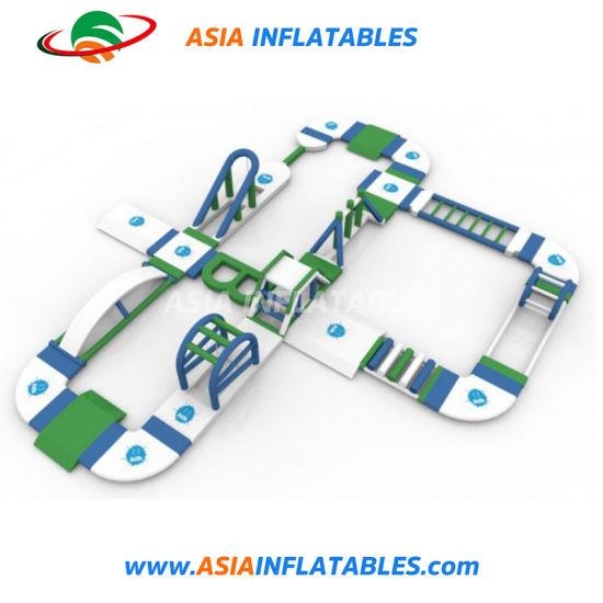 Floating Water Slide Inflatable Kids Amusement Park for Lake