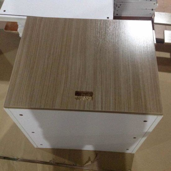 China White Carcass and Wood Grain Particleboard Melamine ...