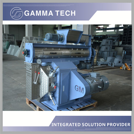 1-5tph Feed Mill Machine with Mixer/Pellet Mill/Cooler/Grinding Machine