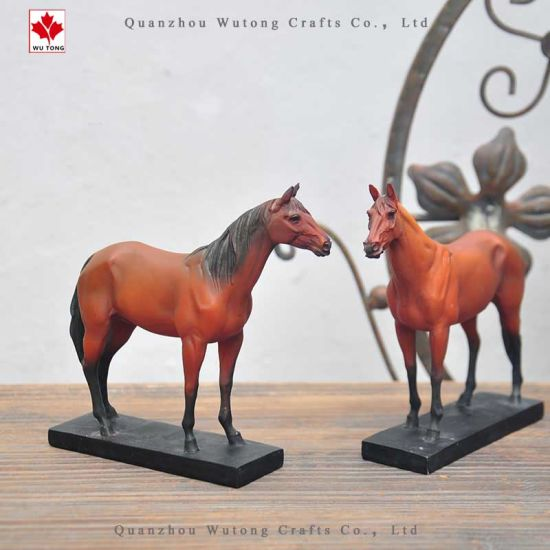 OEM Polyresin Home Gifts Horse Animal Table Office Decor