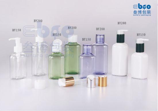 150ml/200ml Customized Flip Top Cap Cosmetic Packaging Lotion Bottle.