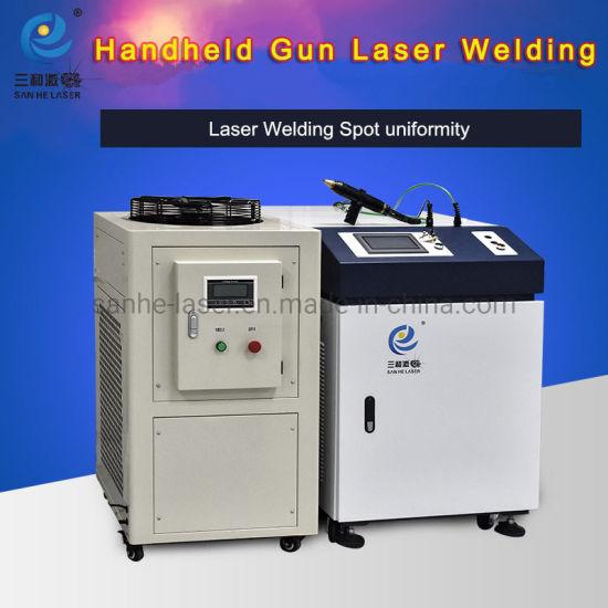 Portable Hand Held 300W 500W Fiber Laser Welding Machine China Pipe steel