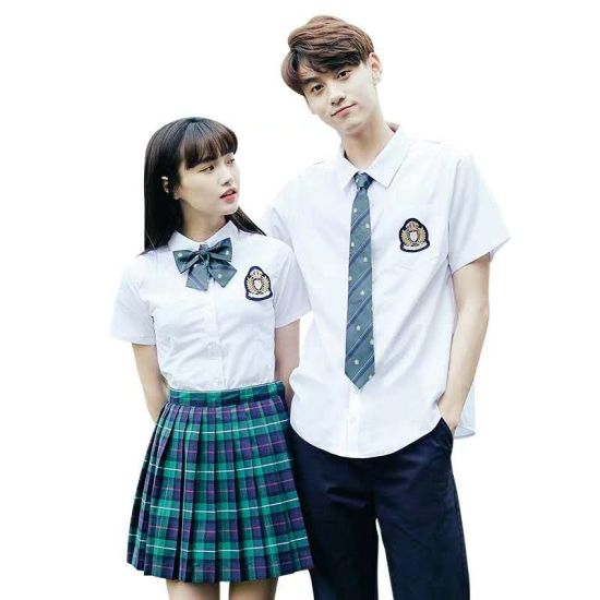 2019 China Clothing Factory High Quality High School Uniforms for Boys and Girls