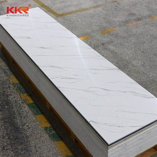 China Factory Free Samples Krion Bathroom Shower Wall Panel Dupont Corian Price Marble Veins Acrylic Solid Surface China Corian Solid Surface Solid Surface
