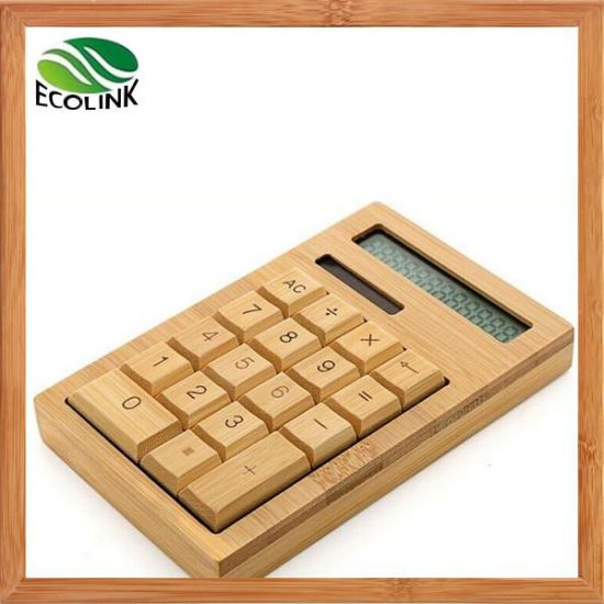 Digital Solar Bamboo Calculator (EB-B4193) pictures & photos