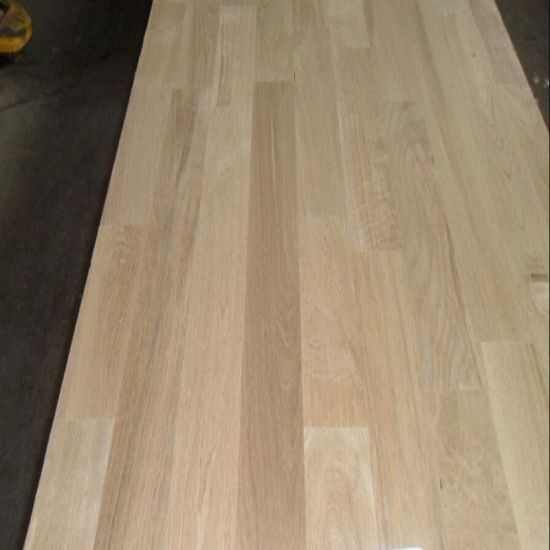 Oak Wood Finger Jointed Panel pictures & photos