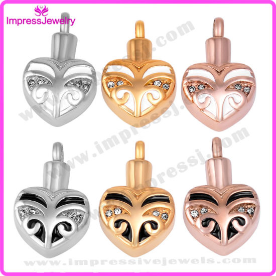 Ashes Jewellery Rose Gold Heart Pendants with Crystals Ijd9660 pictures & photos