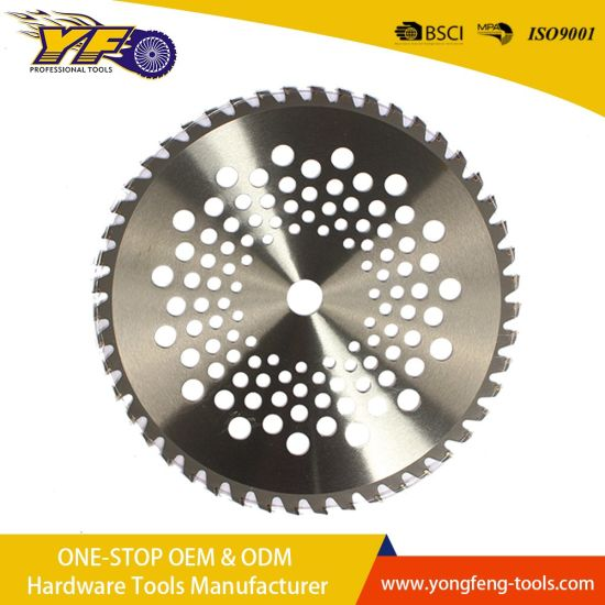 Wholesale Professional Carbide Saw Tips Tct Saw Blade for Cutting Grass