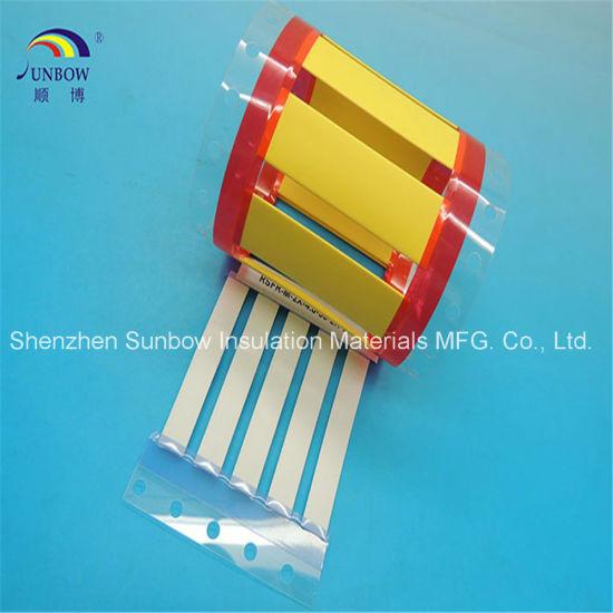 2 1 Halogen Free Printable Polyolefin Heat Shrink Cable Marker Sleeve
