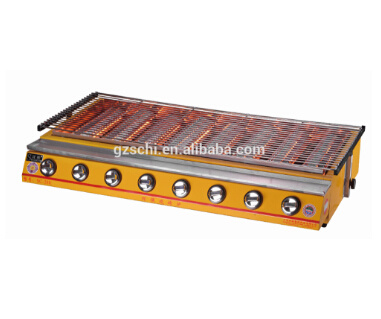 New Style Automatic 8 Burners Gas BBQ Grill