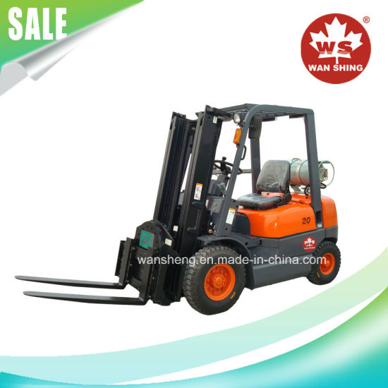 2 Ton LPG Forklift Truck with Japan Engine