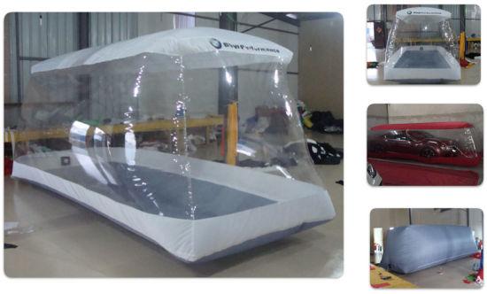 Outdoor Transparent Inflatable Car Capsule Car Cover Bubble Tent Garage