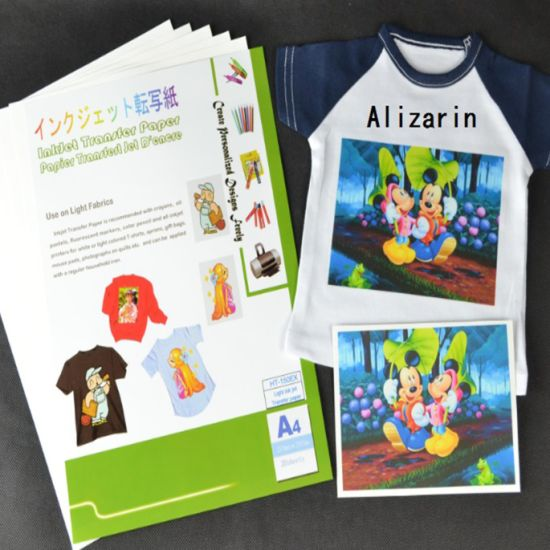 Washable and Flexible Light Inkjet Heat Transfer Paper for T-Shirt pictures & photos