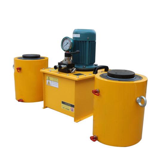 100 Ton Hydraulic Jacks High Tonnage Hydraulic Cylinder