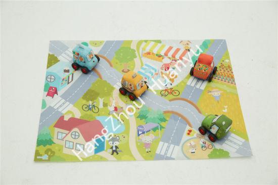 Labebe Friction Pull Back Plush Vehicle Toy Car Baby Product