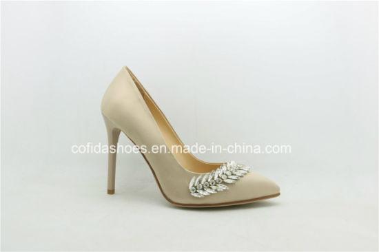 Crystal Platform High Heels Women Shoe for Wedding Lady