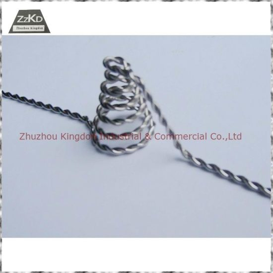 High Quality Tungsten Coil (W-1, W-2) /Metalizing Filaments/Tungsten Wire/Tungsten Filament pictures & photos