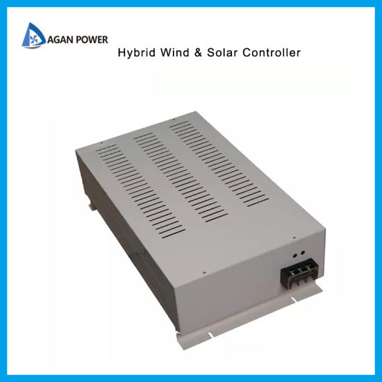 120V MPPT Wind Solar Hybrid Charge Controller 2kw Wind with Build in Dump  Load