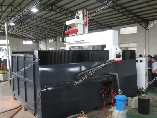 CNC Stone Hsd 5 Axis Router for Hard Granite Marble pictures & photos