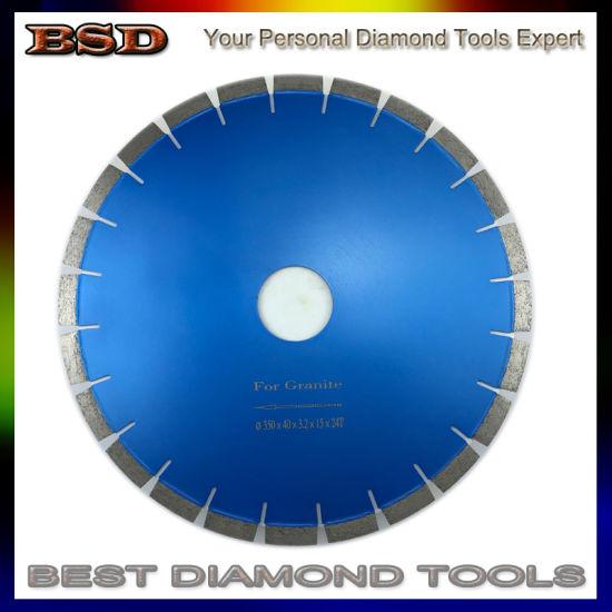 350X15mm Diamond Cutting Saw Blade for Hard Granite Sandstone Quartz