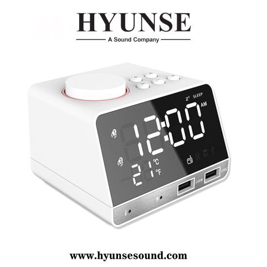 Alarm Clock Bluetooth Mirror Speaker