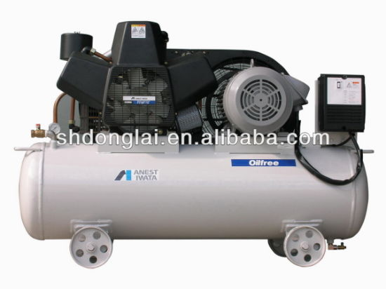 Anest Iwata Low Noise Oil Free Air Compressor pictures & photos