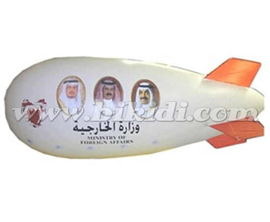 Advertising Inflatable Helium Zeppelin Inflatable Helium Blimp to UAE K7096 pictures & photos