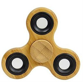 Bamboo Wood Fidget Spinner Tri Hand Spinner pictures & photos