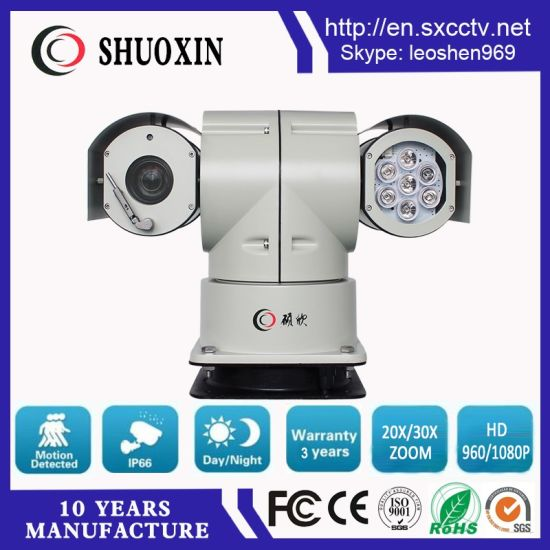 Sony 36X Zoom 100m Night Vision Intelligent Infra Red Car Surveillance PTZ CCD Camera pictures & photos