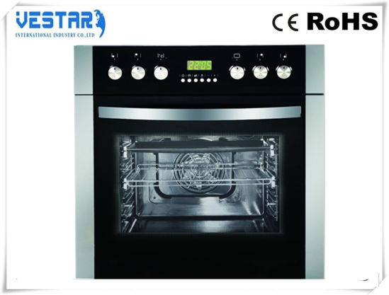 Touch Control 10 Functions Gas Oven Cooker for Rotisserie Grill pictures & photos