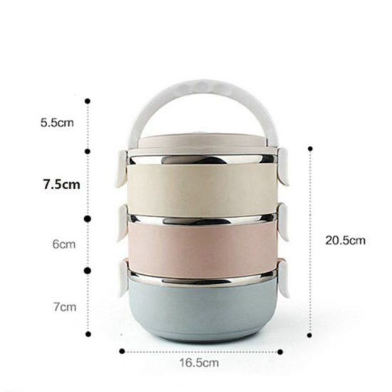 34f04ffbb491 China Stackable Lunch Box Stainless Steel, Stackable Bento Lunch Box ...