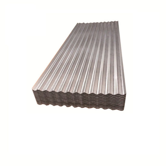 55% Aluminium Galvanized Coated Steel Roofing Sheet Ribbed Roof Panels