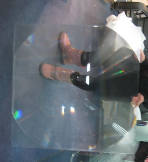 Good Quality PMMA Materials Solar Fresnel Lens with Diameter 1000mm Solar Lens Cooker Lens Fresnel Solar Cooker Lens pictures & photos