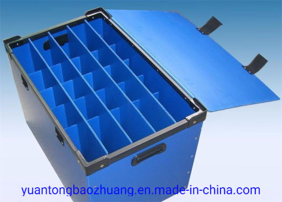 Pesticide Corrosion Resistant and Shockproof PP Material Turnover Box pictures & photos