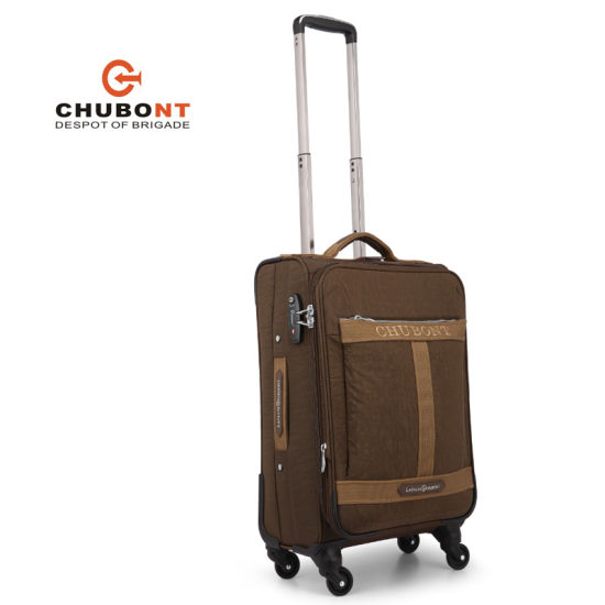 Chubont Soft Spinner Four Wheels Suitcase for Businiess Travel pictures & photos