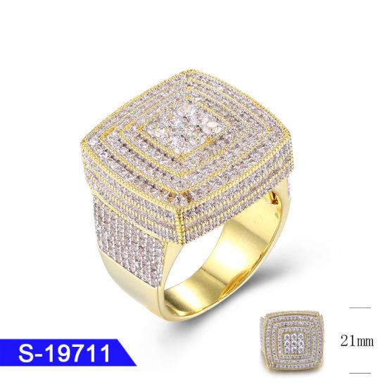 63d313606d154 China Wholesale New Design Hip Hop Men′s 925 Sterling Silver Fashion ...