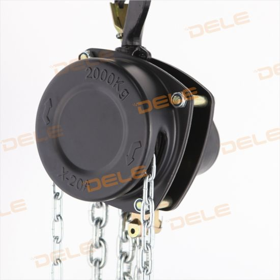 0.5t-50t New Goods of Manual Chain Hoist Crane pictures & photos