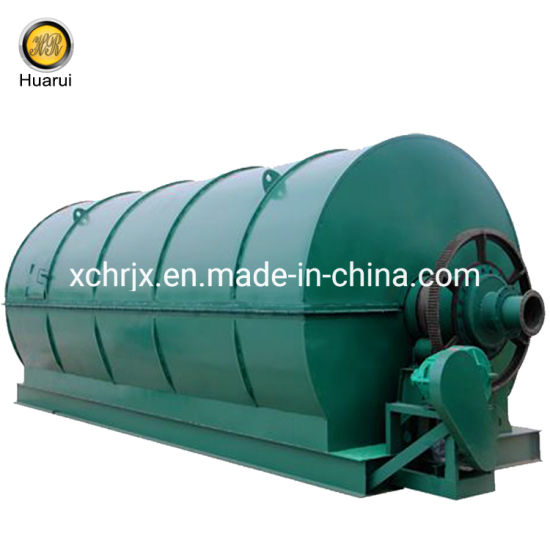 Waste Tyre Pyrolysis Oil Service Operating Refining Equipment pictures & photos