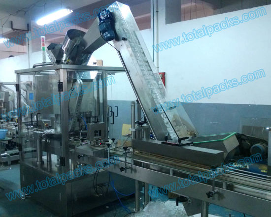 High Speed Rotary Chuck Capper for Bottles (CP-400A) pictures & photos