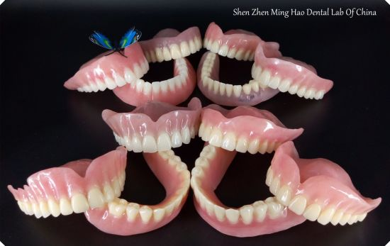 Full Denture with Acrylic Tooth Removable Denture pictures & photos