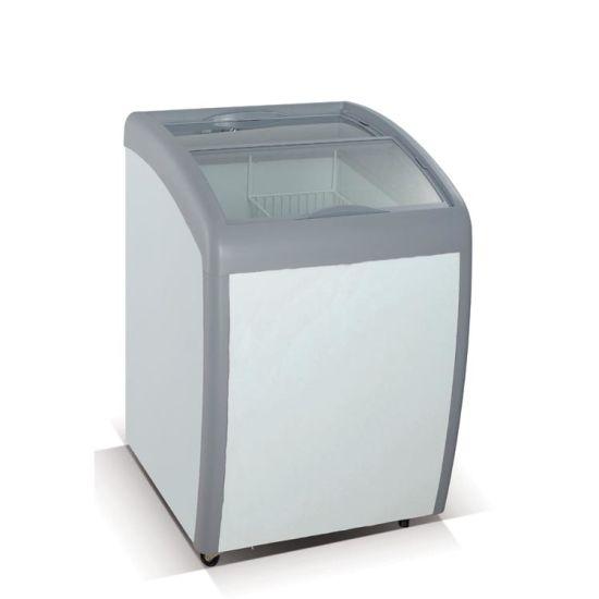 Mini Portable Ice Cream Display Chest Freezer