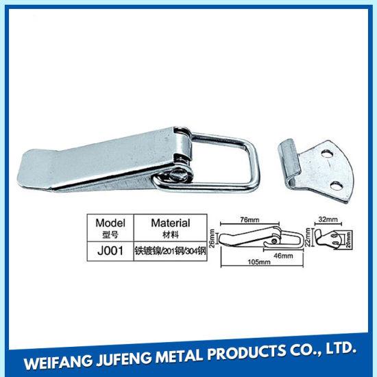 Custom Metal Press Parts Stamping Roller Safety Belt Buckle