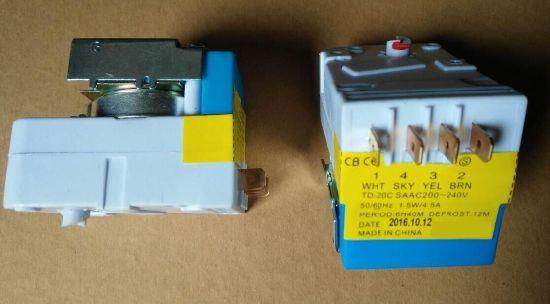 ISO9001 Refrigeration Fridge Freezer Electrical Defrost Timer Td-20