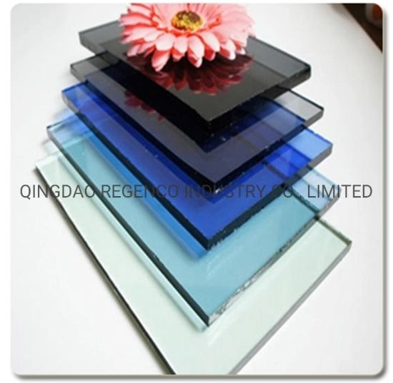 4mm 5mm 6mm 8mm China Factory Tinted Glass with High Quality