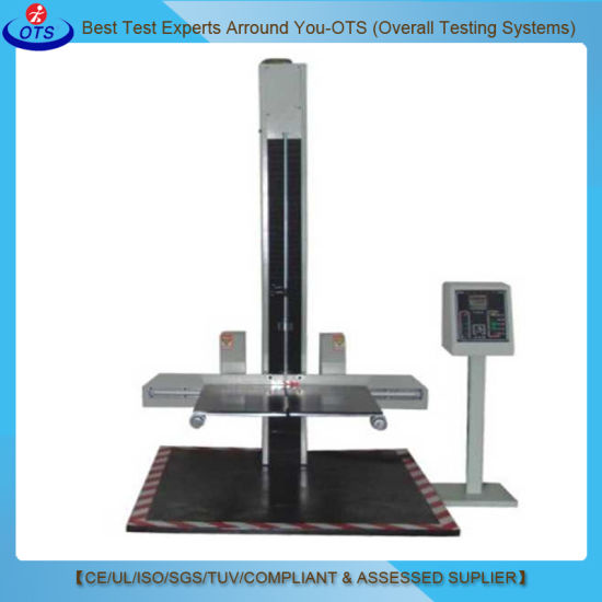 Programmable Package Drop Impact Tester Machine with Two Wing Type