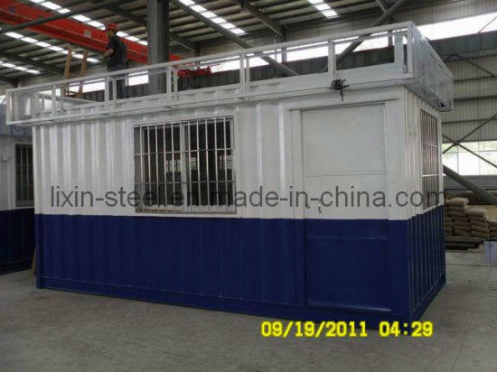 Government Security House Project Shipping Container House pictures & photos